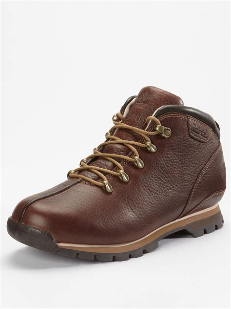timberland splitrock mens boots in brown for lyst
