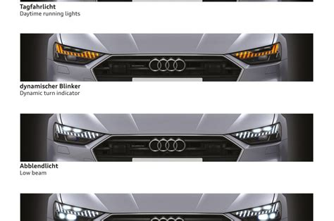 audi matrix headlights dive audi a7 s hd matrix led headlights with audi