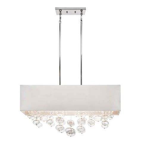 Rectangular Drum Chandelier Piatt Chrome Six Light Chandelier Rectangular Pendant Elan Drum Pendant Lighting Ceiling L