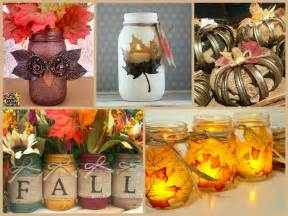 crafts for fall decorations easy jar fall decorations diy fall decorating