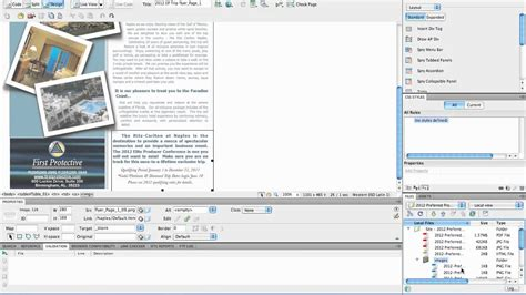 design html email templates dreamweaver create html email part 4 using dreamweaver to clean and