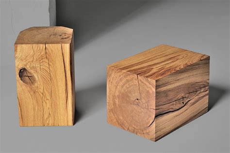 hocker design hocker klotz vitamin design i holzdesignpur