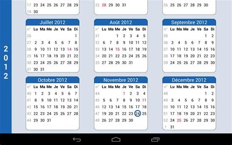 Calendrier Annuel Calendrier Annuel Android Apps On Play