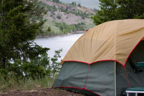 how to replace a tent guyline infographic