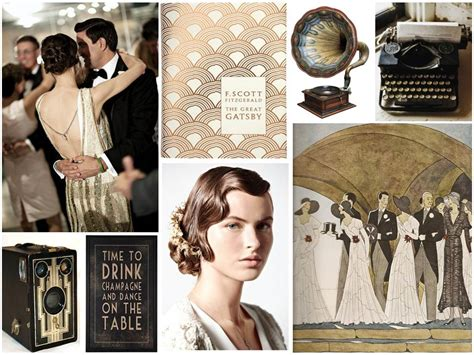 theme of rebellion in the great gatsby vintage fashion mood board google search art