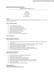 event staff resume description free resume samples