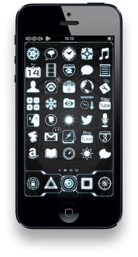 modi5 boxorhd widescreen iphone 5 dreamboard theme modi5 neurotech iphone 5 theme