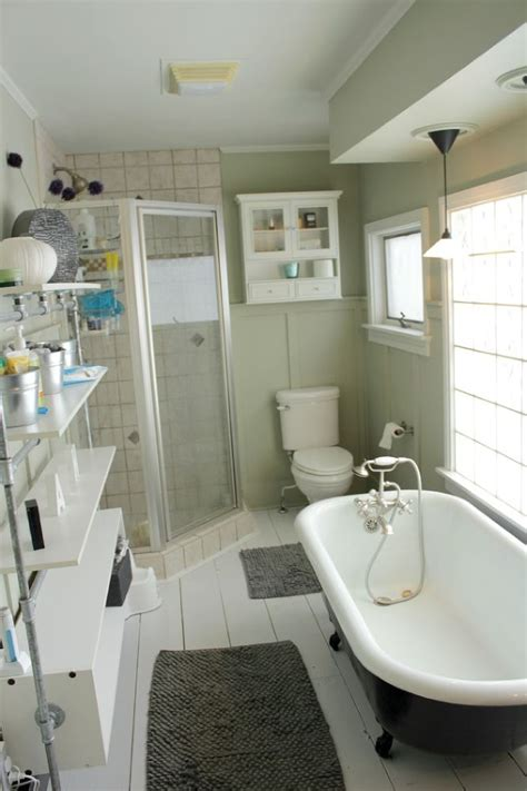 hometalk colorful and bright bathroom makeover