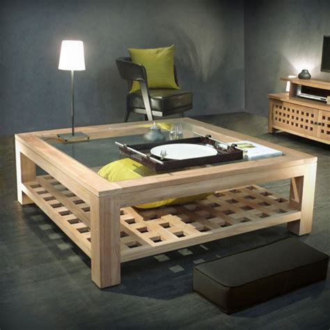 Grande Table Basse Carree by Grande Table Basse Carr 233 E Page 3
