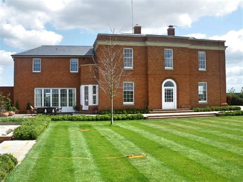 red brick country house large house design exclusive red