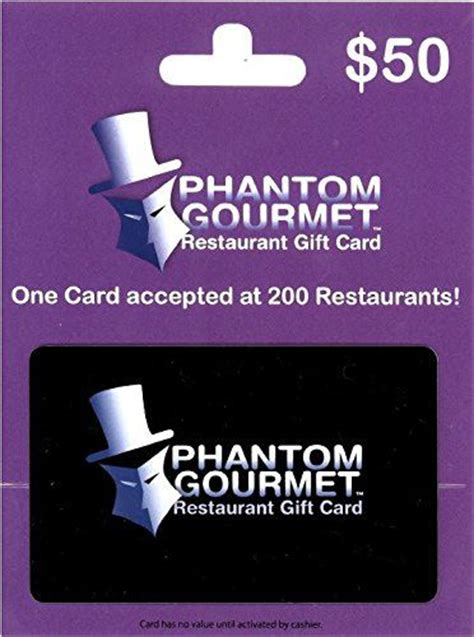 Phantom Gourmet Gift Card Restaurants - 17 best images about gift cards on pinterest cold stone creamery tgi fridays and