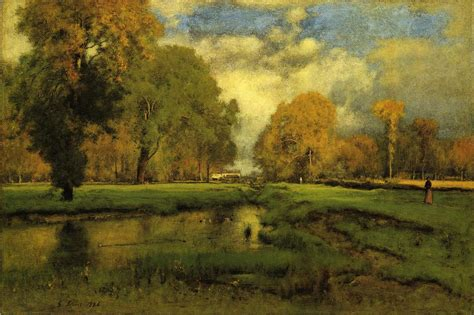 Landscape For Sale George Inness October Painting 50