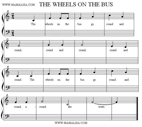 wheel on the piano the wheels on the american children s songs the