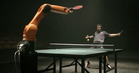 table tennis timo boll vs for kuka robotics