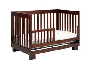 babyletto modo 3 in1 convertible baby crib in espresso m6701q