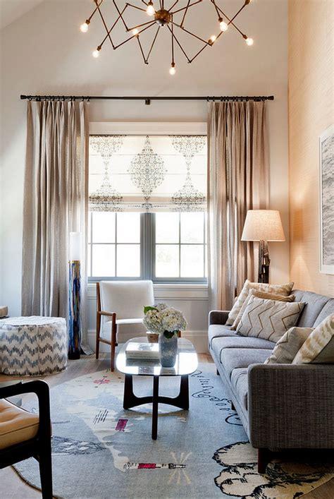 de idei pentru decorul ferestrei combinatii de rulouri