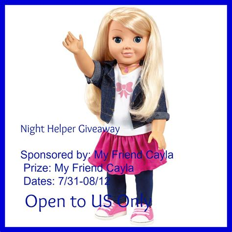 my friend cayla talking doll giveaway my friend cayla talking doll the shopping