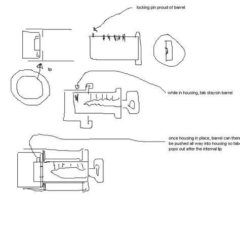 Key Switch Vespa Modern modern vespa ignition barrel replacement help