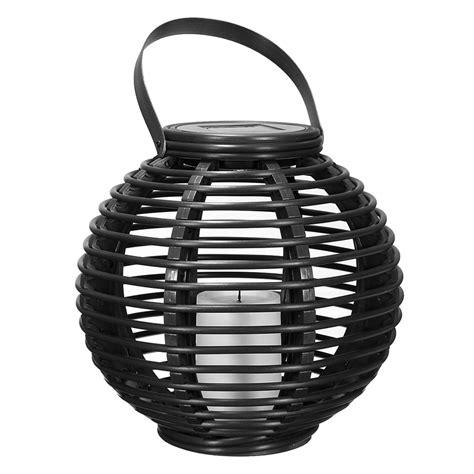 Pvc Led Solar Lantern 0 1w Plastic Rattan Lantern Garden Decorative Led Solar Light Warm White Alex Nld