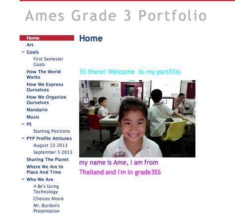 Google Portfolios Model Sharingpyp Blog Student Portfolio Template