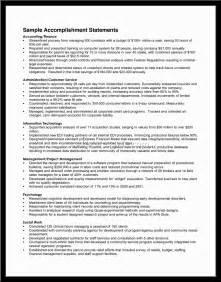 Sample Resume Achievements achievements resume samples accomplishment resume examples resume