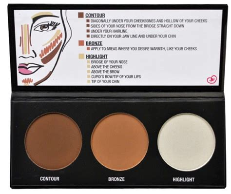 city color cosmetics city color cosmetics contour effects palette city color