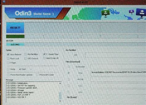 reset samsung using odin guide samsung how to flash stock rom via odin