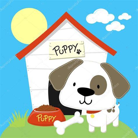 dog house cartoon puppy dog house cartoon stock vector 169 hayaship 26295989