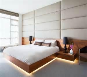 bett mit beleuchtung indirekte beleuchtung im schlafzimmer sch 246 ne ideen