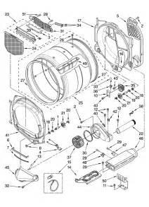 bulkhead parts diagram parts list for model medz600tw2 maytag parts dryer parts searspartsdirect