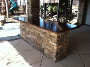 Outside Bar Tops Klein S Lawn Landscaping Hardscapes Concrete Concepts