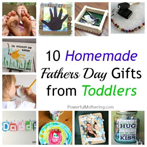 Fathers Day Gifts Handmade - 10 fathers day gifts from toddlers