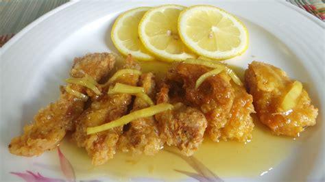Minyak Goreng Rajawali Emas resepi cikgu ani ayam bersos lemon