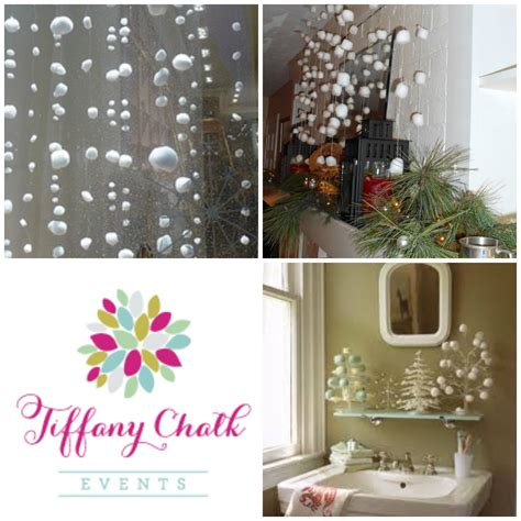 tiffany s tips diy holiday decorating with cotton balls