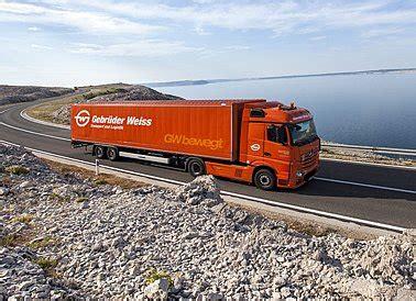 land transport products services gebrueder weiss