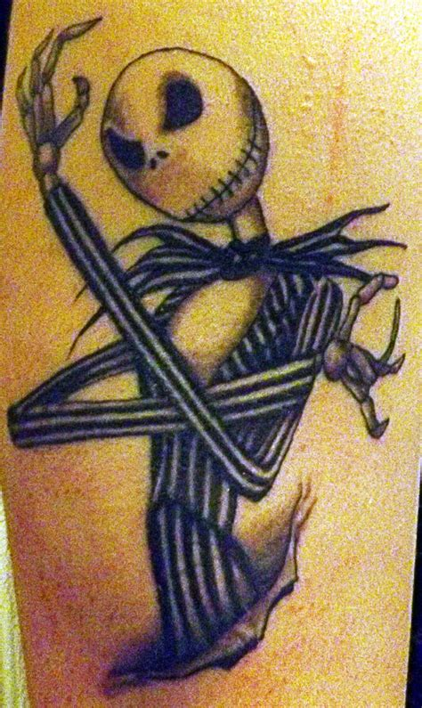 jack skellington tattoo 30 awesome skellington tattoos entertainmentmesh