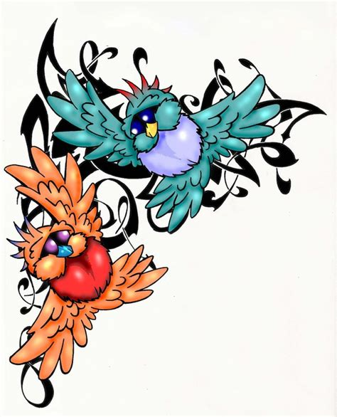 love bird tattoos designs ink shoulder by shelley melvin
