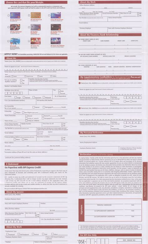bpi housing loan application form pdf bpi housing loan application form pdf 28 images sbbj