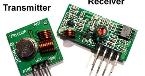 433 Mhz 433mhz Transmitter Dan Receiver Transceiver Baru Baru B litarprojek2u tutorial 6 arduino 433mhz radio frequency rf transmitter receiver