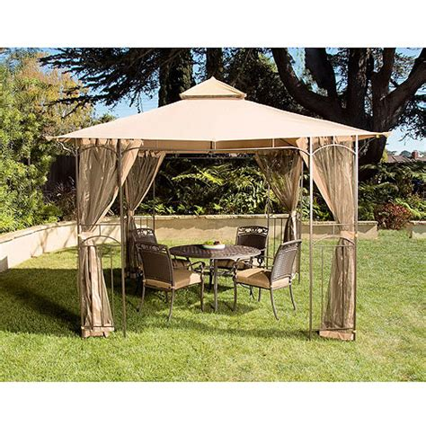 Review Garden 12 X 10 Patio Gazebo With Optional Netting 10 X 12 Patio Gazebo
