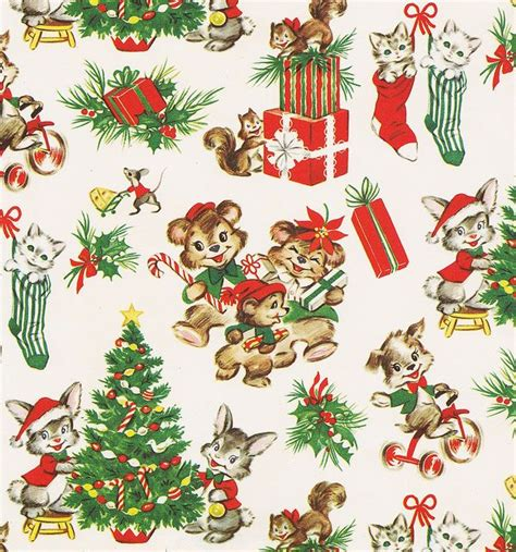 1000 ideas about vintage wrapping paper on pinterest
