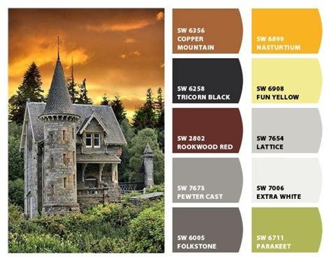 scottish colors quot scottish castle quot color palette inspiration for exterior