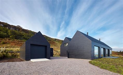 shed architectural style colbost house dualchas architects reinvent the scottish black shed on the isle of wallpaper