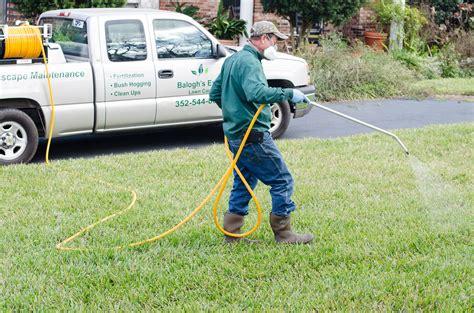 Lawn Care lawn spraying