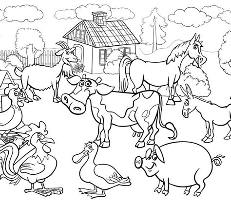 animal coloring pages free download colouring pages of farm animals kids coloring europe