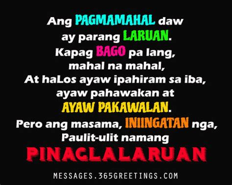 Letter Quotes Tagalog Tagalog Quotes For 365greetings