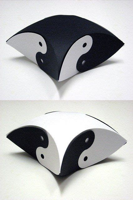 Origami Yin Yang - how to make pillows pillow box and make pillows on
