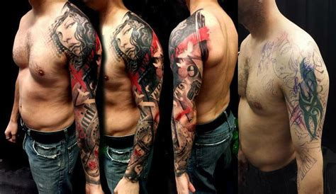 57 amazing cover up shoulder tattoos