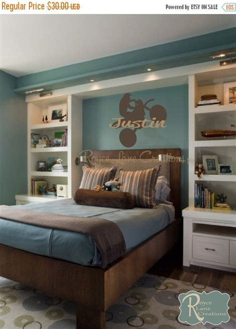 teen room decoration personalized decors for teen rooms sale motocross wall decal with personalized name n sports