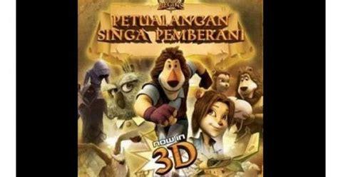 film petualangan raksasa film animasi petualangan singa pemberani 2 akan hadir
